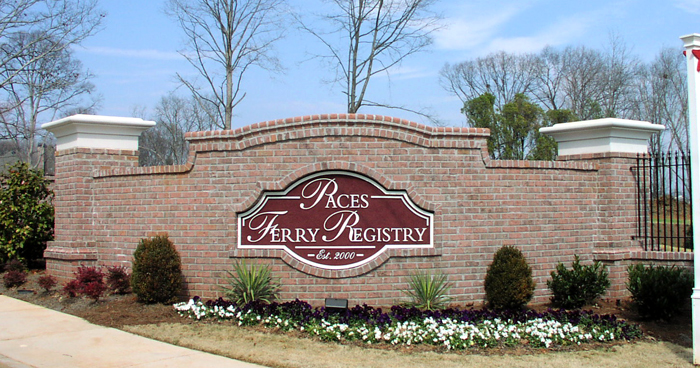 Paces Ferry Registry